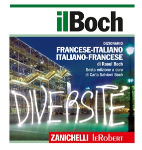 Copertina dizionario Zanichelli Il Boch